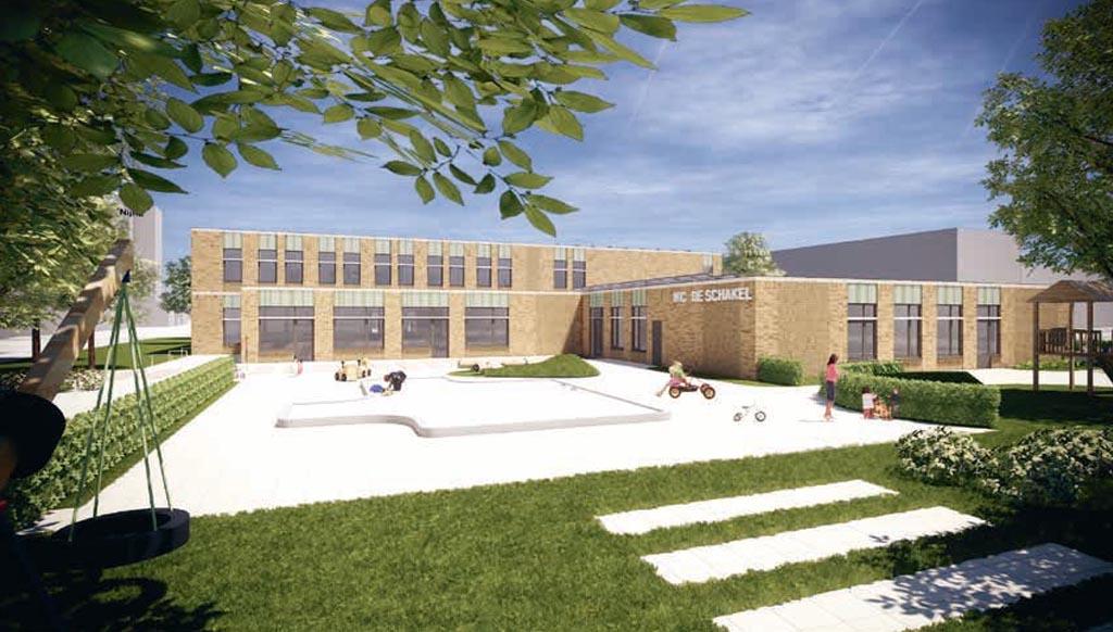 Energieneutraal schoolgebouw uit prefab elementen