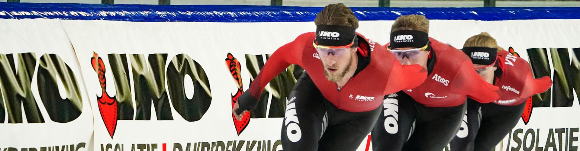 IKO - enthousiaste sponsor van het veldrijden en schaatsen